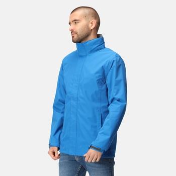 Men's Ardmore Waterproof Shell Jacket Oxford Blue Seal Grey