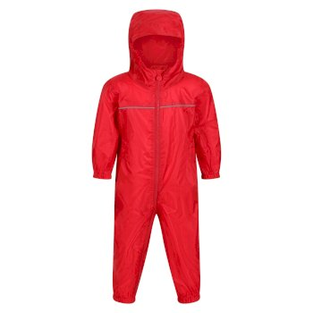 Kids' Paddle Puddle Suit Classic Red
