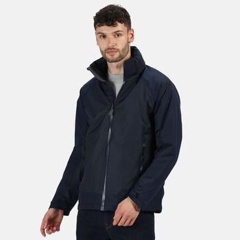 Men's Ashford II Waterproof Jacket with Concealed Hood Navy