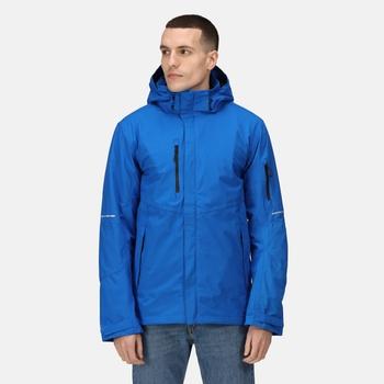 Men's X-Pro Exosphere II Waterproof Shell Jacket Oxford Blue Black