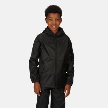 Kids' Pro Stormbreak Waterproof Shell Jacket Black
