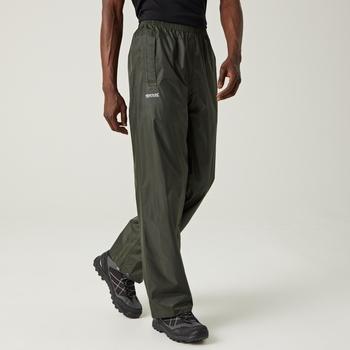 Men's Stormbreak Waterproof Overtrousers Dark Olive