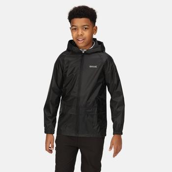 Kids' Stormbreak Waterproof Jacket Black